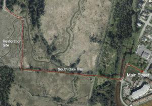 South Dike Trail Dike Map
